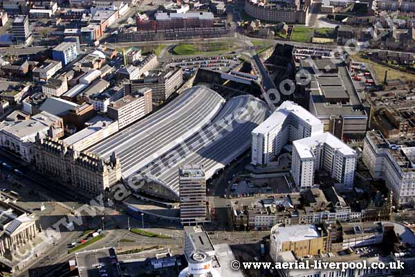lime street station from the air