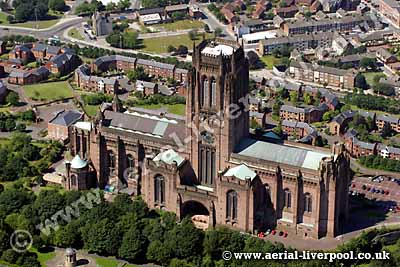 liverpool cathedral aerial